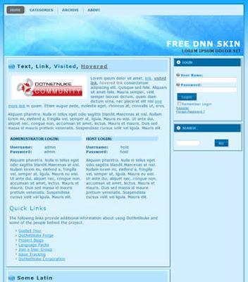 2 column free dnn skin