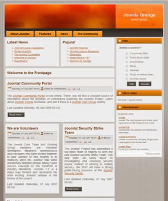 2 column free joomla bloggers template