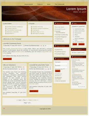 free joomla cms business template