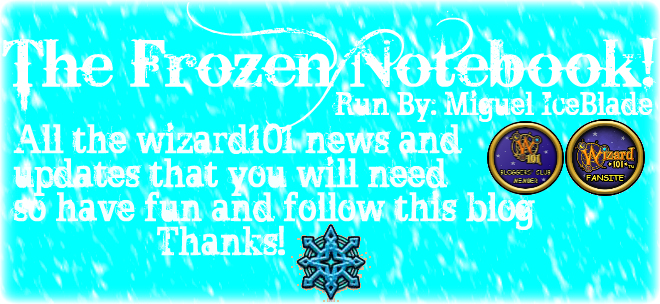The Frozen Notebook!