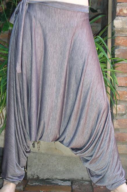Babucha chiripá en seda fría