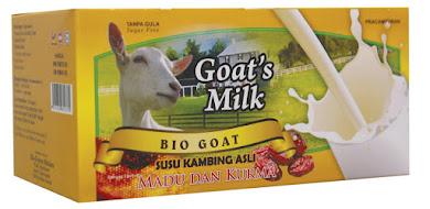 Susu Kambing Plus Ekstrak Madu & Kurma (Kotak) - RM35