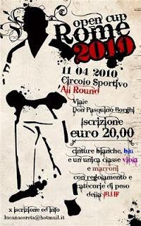 Rome Open Jiu Jitsu cup 2010 2