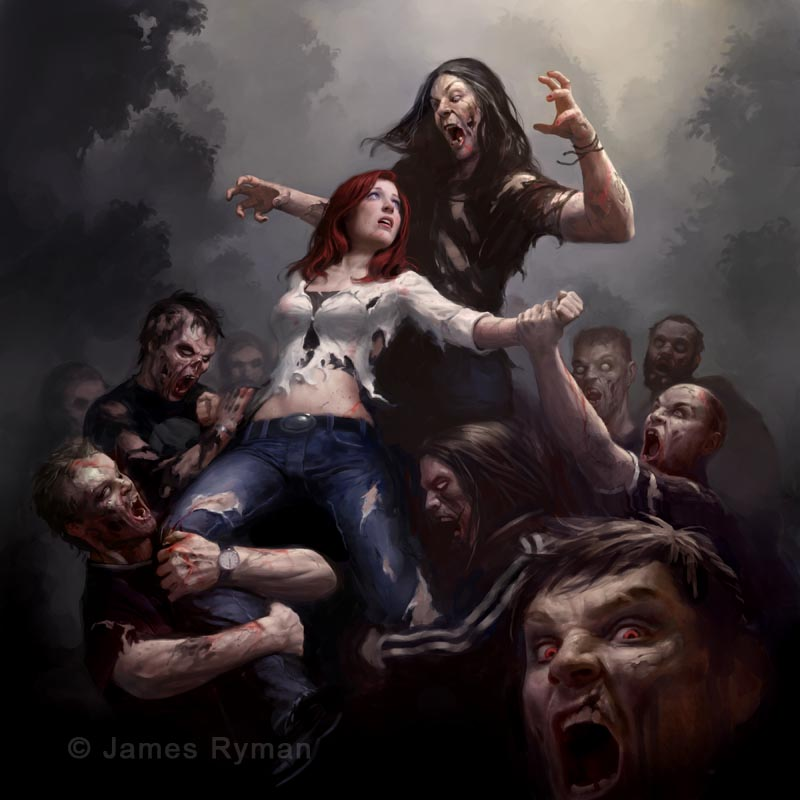 """Zombie Attack"""" by..."""