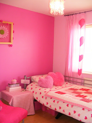 my luverly lot a very girly room