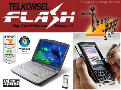 Cara Daftar Paket Internet Unlimited Telkomsel Flash