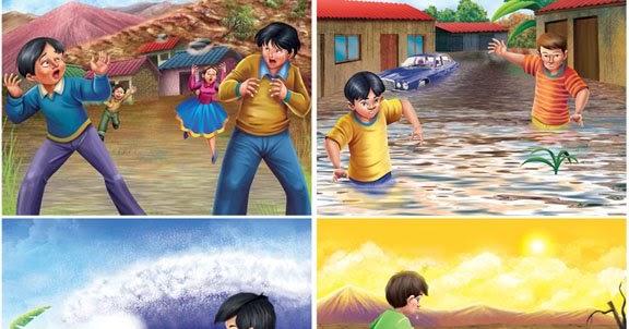 ILUSTRACION DIGITAL Desastres Naturales