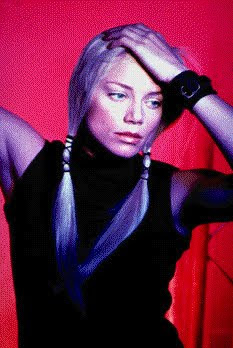 foto de peta wilson, una rubia y linda mujer actriz de Nikita
