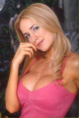 luciana salazar rubia argentina linda