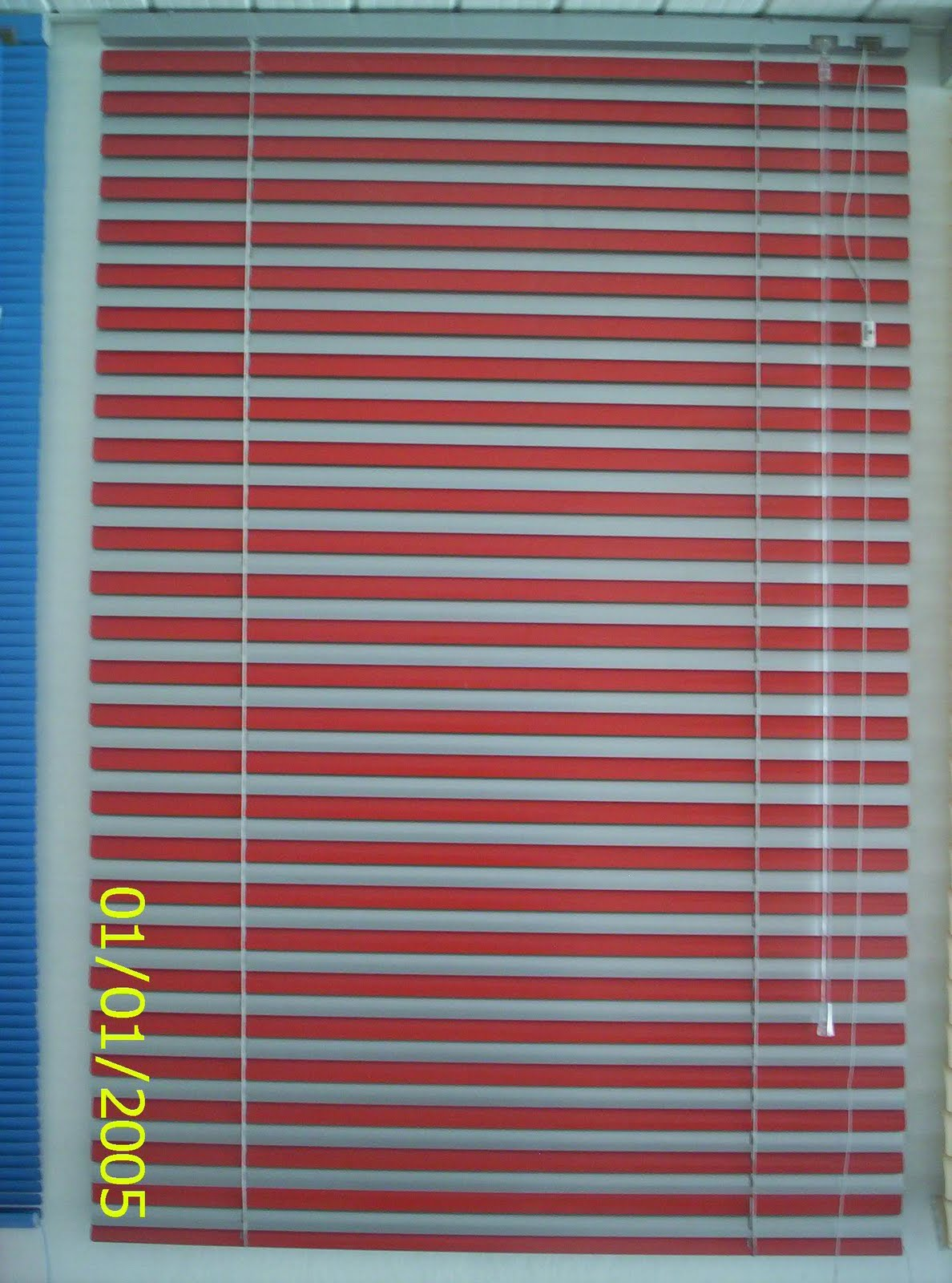 #1B4A79 Persiana Vertical de Tecido PVC e Persiana Horizontal de Alumínio 4408 Janela Aluminio Maxiar