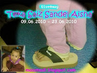 Giveaway Teka Saiz Sandel Aisha