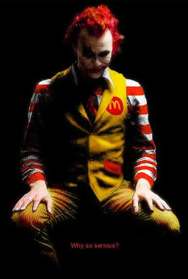 Obsessive compulsive addict ronald mcdonald child molester aside from my general hatred of mcdonalds and everything it stands for ever since i was a child i always found ronald creepy and it never made sense to me voltagebd Gallery