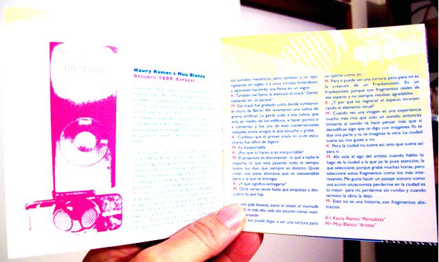 Catalogo. Paisaje Sonoro. Ccs-Brln  Pagina 3 y 4