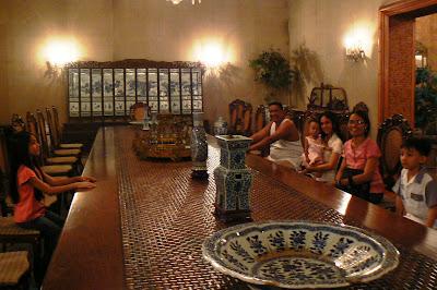 Romualdez Museum Presidential Dining Table