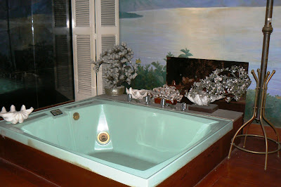 Imelda's bathtub in the Romualdez Museum