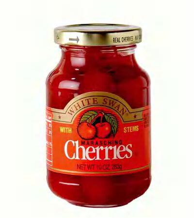 Maraschino Cherries: