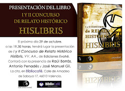 Presentaci del Llibre de Relats Histrics de Hislibris.com