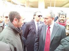 Michele Cagnazzo e Beppe Lumia (Comm.ne Parlamentare Antimafia)