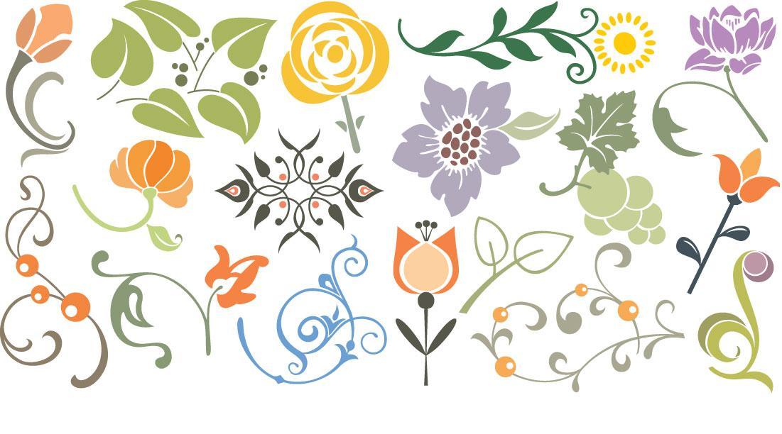 Imagenes de flores para dibujar en paredes - Imagenes para paredes ...