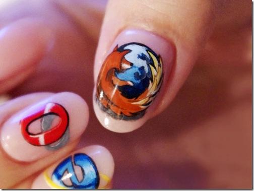 Más tutoriales de este tipo en » Passion Nail Art