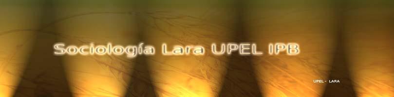 Sociologia Lara UPEL IPB