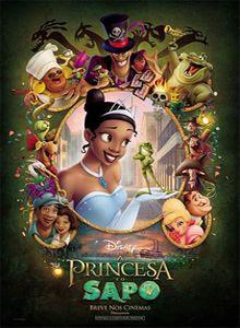 Filme Poster A Princesa e o Sapo DVDRip Dublado