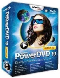 CyberLink PowerDVD 10 Ultra 3D v10.0.1516.51   Retail