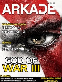 Revista Arkade God Of War III Ed.09