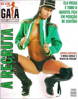 Revista Gata da Hora – Nicolle Bittencourt - Outubro de 2009
