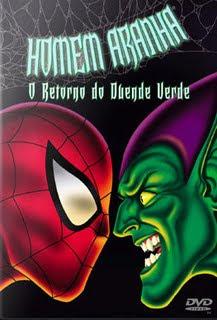 Filme Poster O Homem Aranha - O Retorno do Duende Verde DVDRip RMVB Dublado