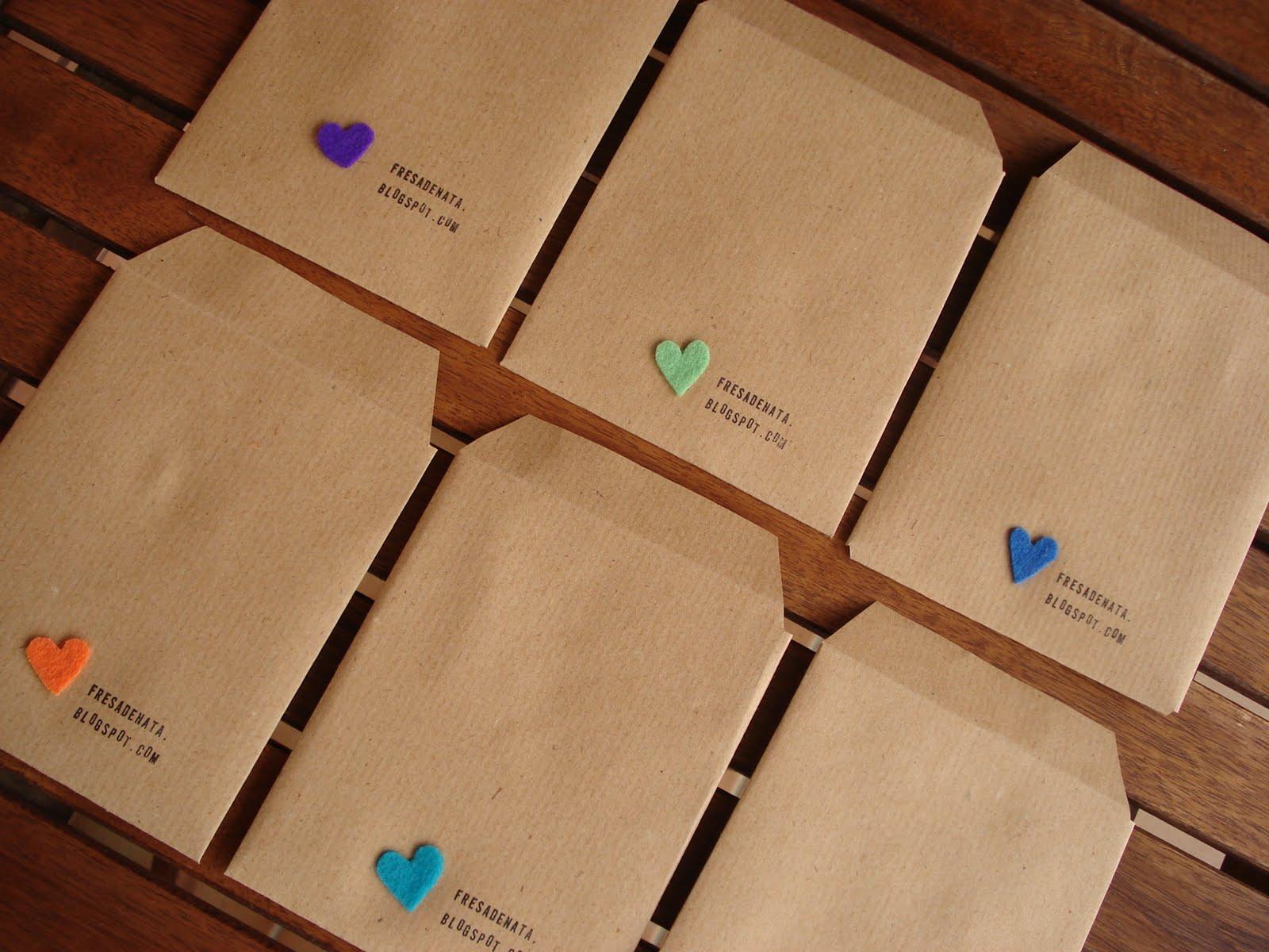 Sobres de papel kraft manualidades pinterest crafts - Manualidades en papel ...
