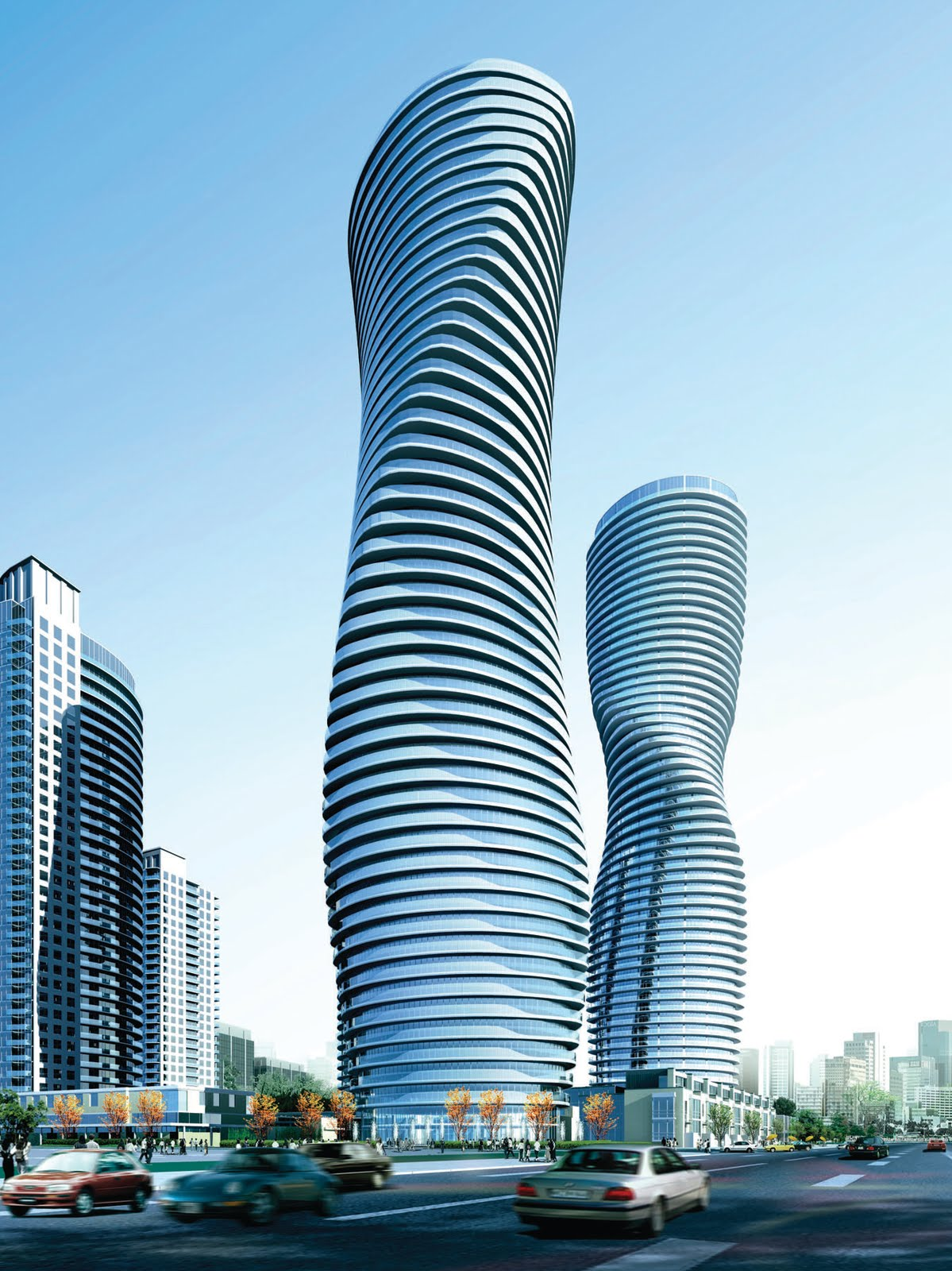 Factoids about the marilyn monroe building and absolute 5 for Absolute towers