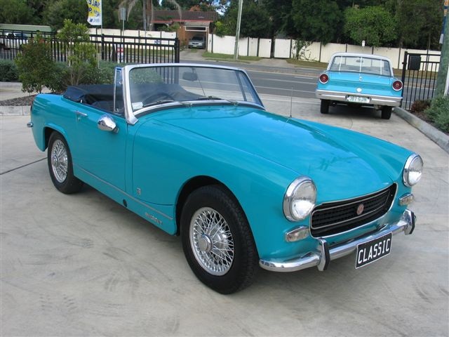 The MG Midget MkI (1964-1966)