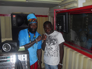 Fancy Kid & Capleton at Studio