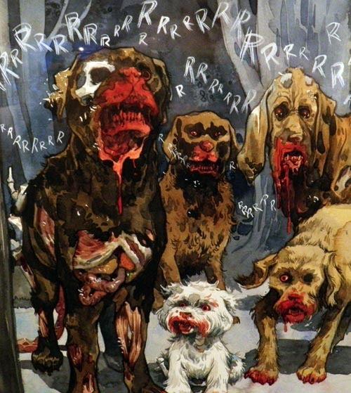 Las Manos Zombies Invade Las Manos Gallery