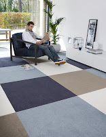 colourful heuga carpet tiles
