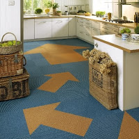 kitchen carpet tiles design
