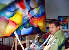 La abstraccion de ignacio monje pintor colombiano for Pintor y muralista colombiano