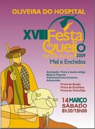 XVIII Festa do Queijo Serra da Estrela, Mel e Enchidos em Oliveira do Hospital
