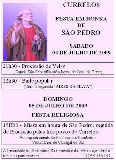 FESTA DE SÃO PEDRO EM CURRELOS 09
