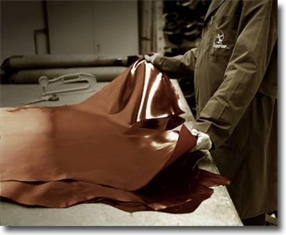 технология производства прессованной кожи из отходов кожи.