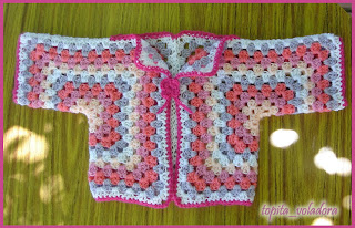 batita ganchicho crochet hexagonal