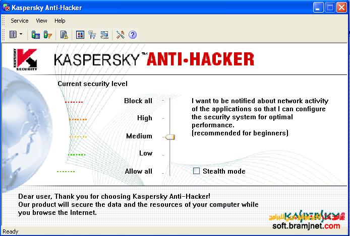 Kaspersky Anti Hacker 1.9.4 naveed ktk