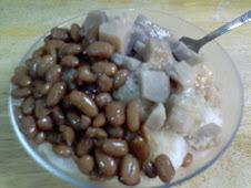 永康街芋頭大紅豆銼冰