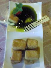 特製美味沾醬炸豆腐