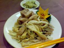 銀翼風雞肴肉