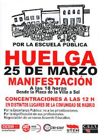 Huelga 25 marzo