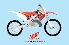 2010 HONDA CR250R