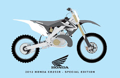2012 HONDA CR250R - SPECIAL EDITION