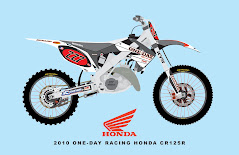 2010 ONE-DAY RACING HONDA CR125R